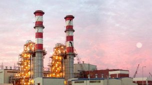 File photo of power plant in Bangladesh