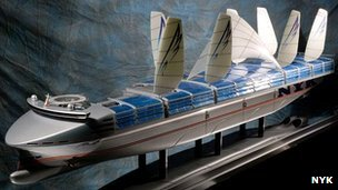 NYK Super Eco ship 2030 concept