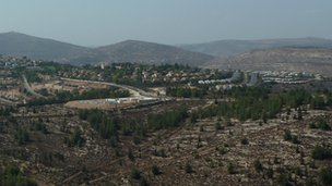 Jewish settlement of Eli in the occupied West Banks