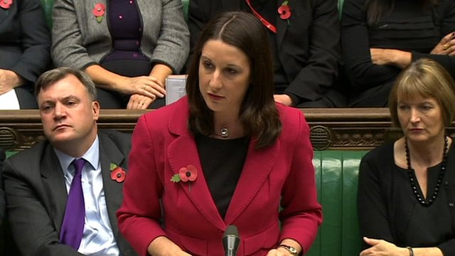 Shadow Treasury Minister Rachel Reeves