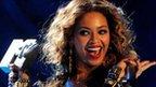 Beyonce at the 2009 MTV Awards