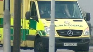 Generic photo of an ambulance