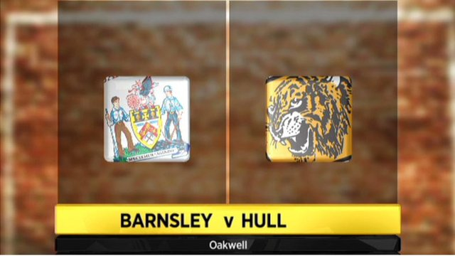 Highlights - Barnsley 2-1 Hull