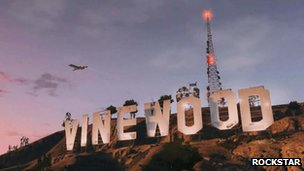 A still from Grand Theft Auto V