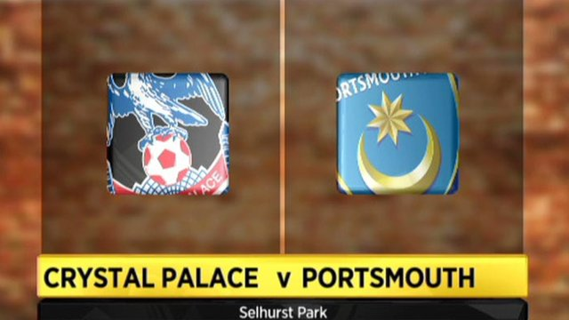 Highlights - Crystal Palace 0-0 Portsmouth