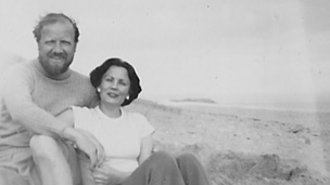 William Golding and his wife Ann in October 1944. Picture courtesy of the Golding Archive