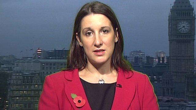 Shadow Chief Treasury Secretary Rachel Reeves