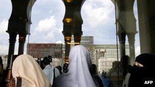 Woman in Putrajaya, file image