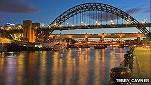 Tyne Bridge. Picture: Terry Cavner