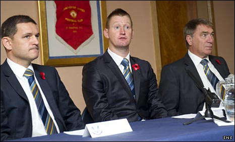 Steve Brown, Steve Lomas and Geoff Brown