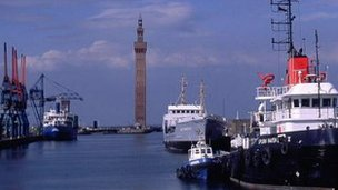 Grimsby&#039;s Dock Tower
