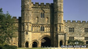 Battle Abbey. Photo from English Heritage