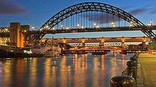 Tyne Bridge. Picture: Terry Cavner