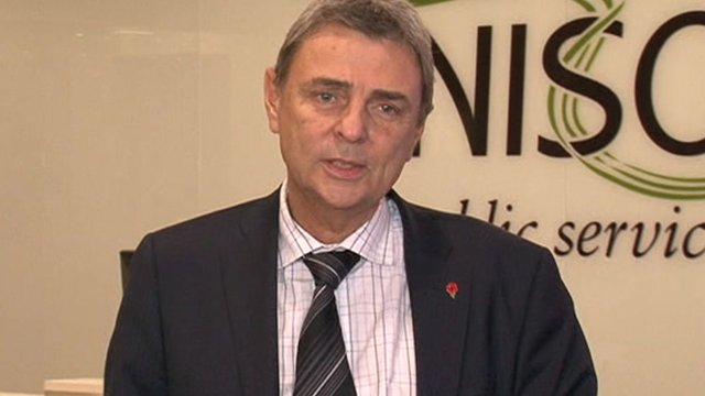 Dave Prentis - the General Secretary of UNISON