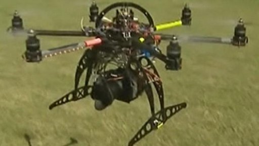 Home made drone by Daniel Garate