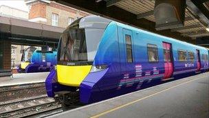 Siemens Desiro train