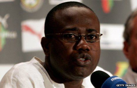 Kwesi Nyantakyi says no player in the Black Stars squad is    Kevin Prince Boateng Parents
