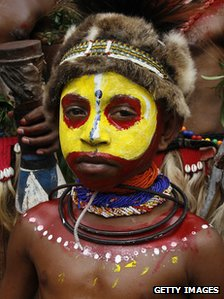 PNG tribe boy