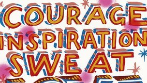 LOVE in 2012 by Bob and Roberta Smith (detail)