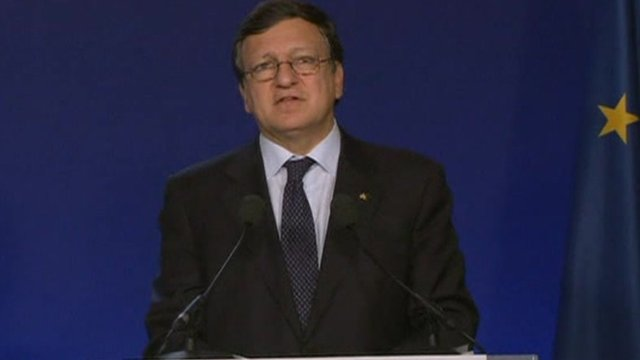 President of the European Commission, Jose Manuel Barroso