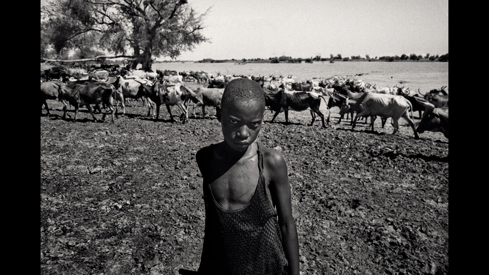 Raymond Dakoua,  from the series Djoliba et les gens du fleuve, 2009 © Raymond Dakoua