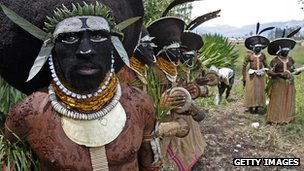 PNG tribe
