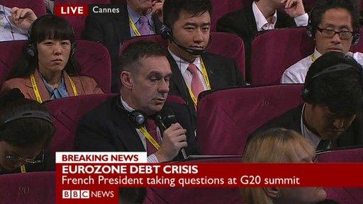Paul Mason in press conference