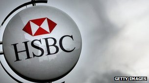 HSBC sign