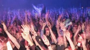 Ministry of Sound ravers