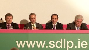 The four SDLP leadership candidates