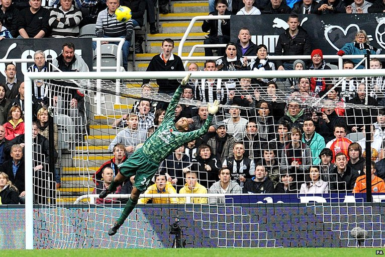 Newcastle's second goal