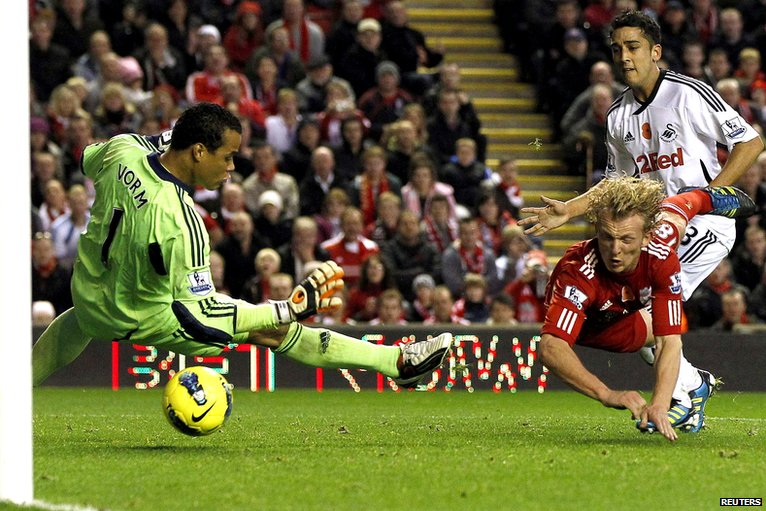 Dirk Kuyt's header is disallowed