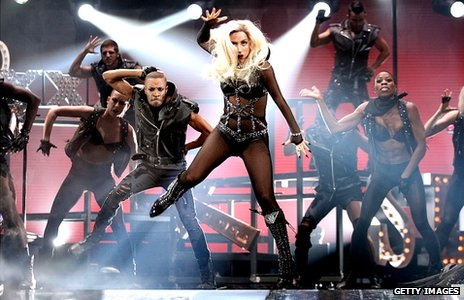 Gaga set to dominate MTV awards
