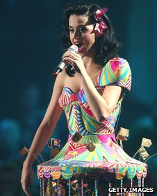 Katy Perry at the MTV EMAs in Liverpool, 2008