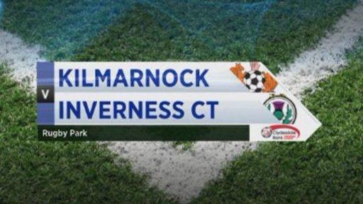Kilmarnock v ICT