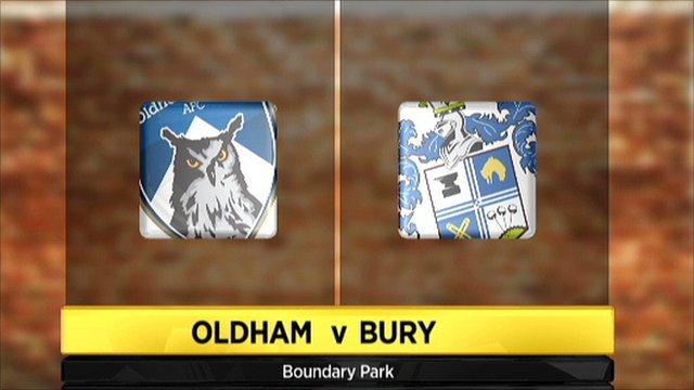 Oldham v Bury