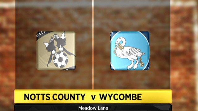 Notts County v Wycombe