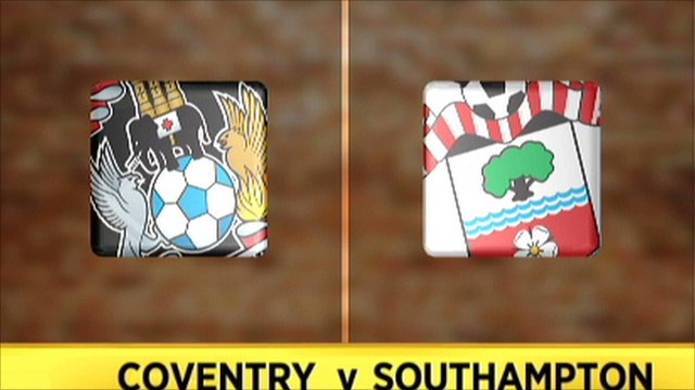 Coventry v Southampton