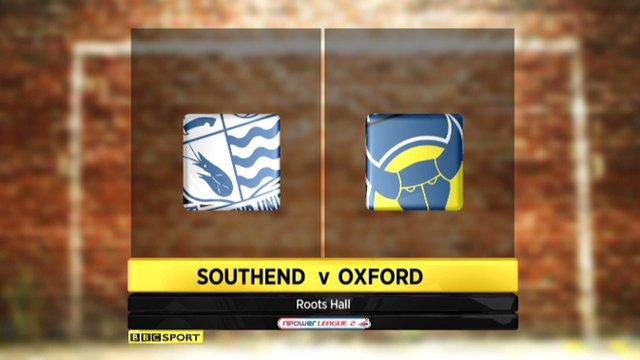 Southend 2-1 Oxford