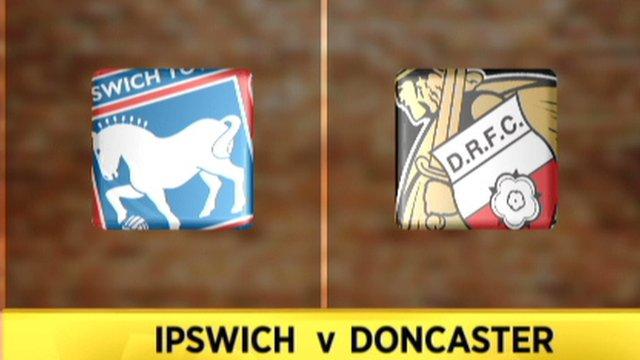 Ipswich v Doncaster