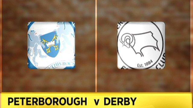 Peterborough v Derby