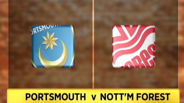 Portsmouth v Nottingham Forest