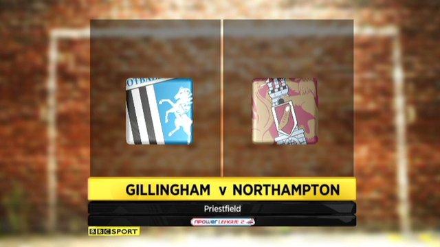 Gillingham 4-3 Northampton