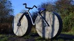 Bicycle sculpture