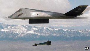 F-117 Nighthawk aircraft