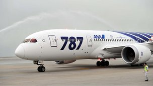 All Nippon Airways Dreamliner (file photo)