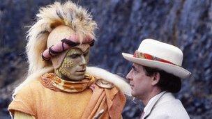 Dr Who meets a Rani