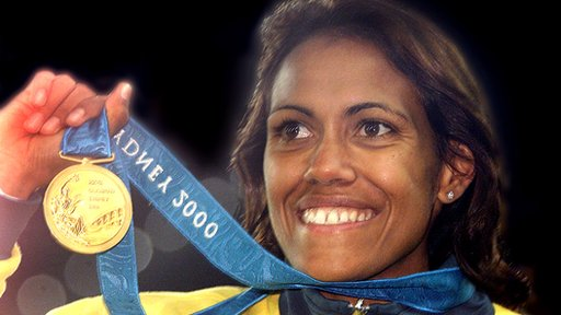 Cathy Freeman - Olympic champion