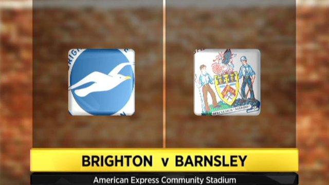 Highlights - Brighton 2-0 Barnsley