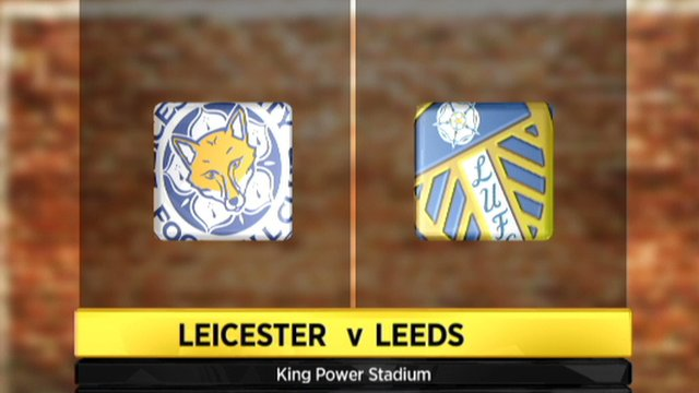 Leicester City 0-1 Leeds United